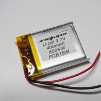 Аккумулятор Li-pol 602530 3.7V 400mAh PCB 15W