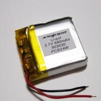 Аккумулятор Li-pol 803030 3.7V 680mAh PCB 24W