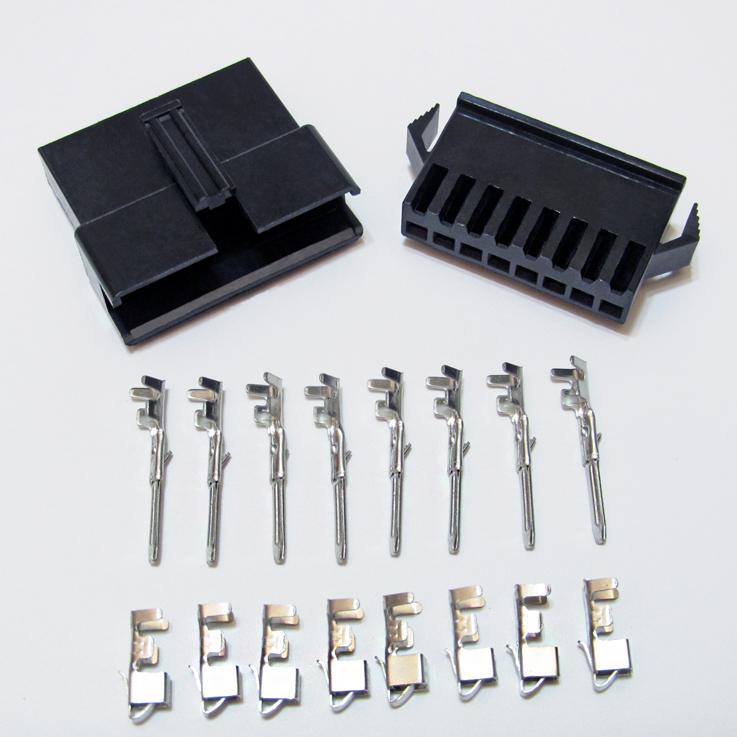 10 Sätze JST 2.5-2 Pin Battery Connector Plug Female
