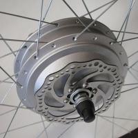 Мотор-колесо 48V600W редукторное 28 дюймов заднее