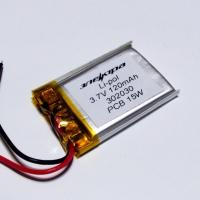 Аккумулятор Li-pol 302030 3.7V 120mAh PCB 15W