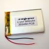 Аккумулятор Li-pol 303450 3.7V 500mAh PCB 24W