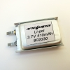 Аккумулятор Li-pol 802030 3.7V 410mAh