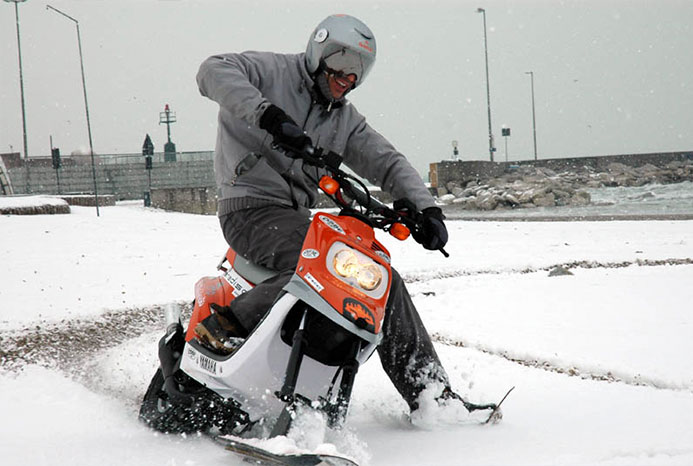 Скутер-снегоход SlideScooters